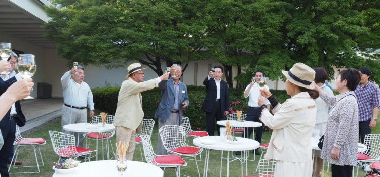 絵画鑑賞とワインの楽しむ会