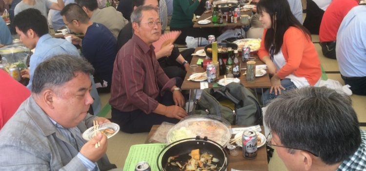 広島西条で、美酒鍋を囲む会