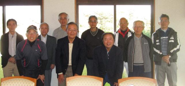 広島支部「北友会ゴルフ大会」に10人参加