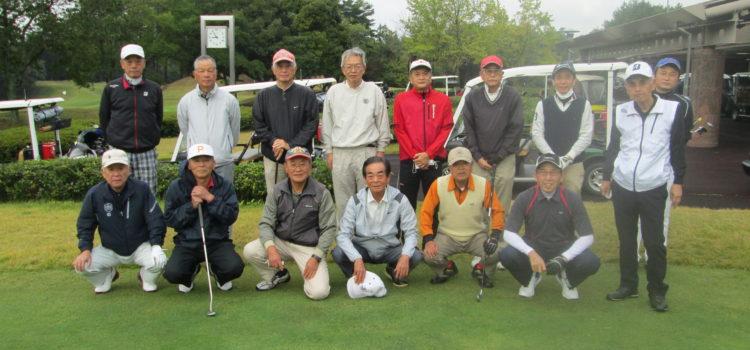 北友会広島ゴルフの15人が参加